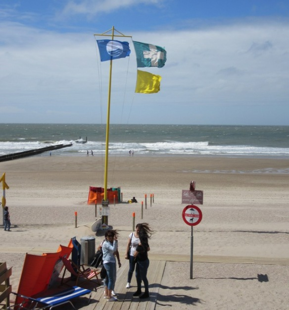 The beach at Domburg Zeeland Netherlands