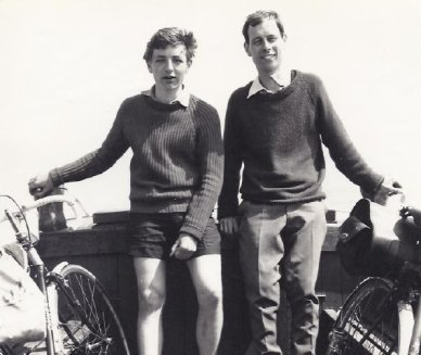 Geoff mayne cycle touring 1960s