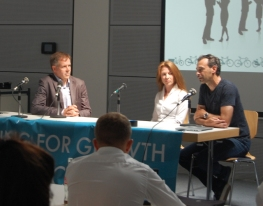 Panel Phil White Hannah Parrish Kevin Mayne Eurobike 2017