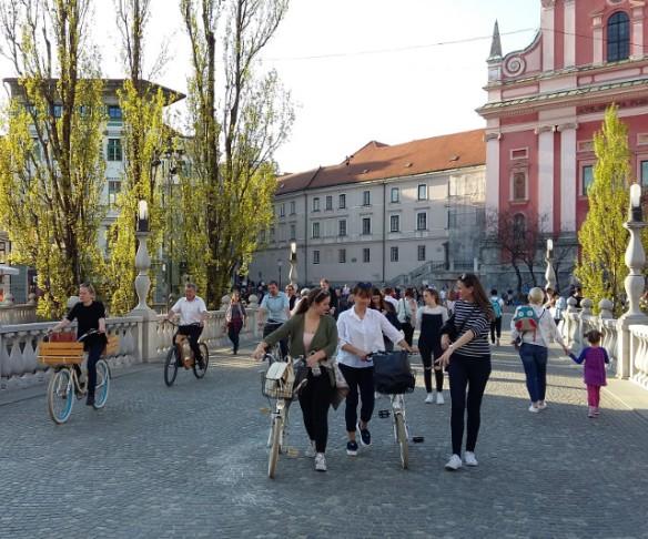 Copyright photography Ljubljana City Council